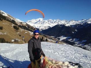 Le Mont Blanc coiffé d'une voile