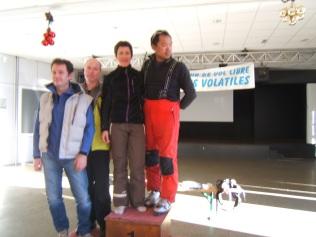 Le podium Bi